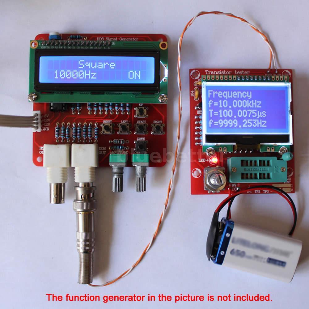 Diy Lcr Meter : M lcd transistor tester diy kit diode triode