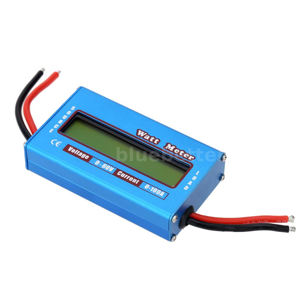 Watt Meter Inline: Digital Watt Meter Battery Voltage Current Power Analyzer