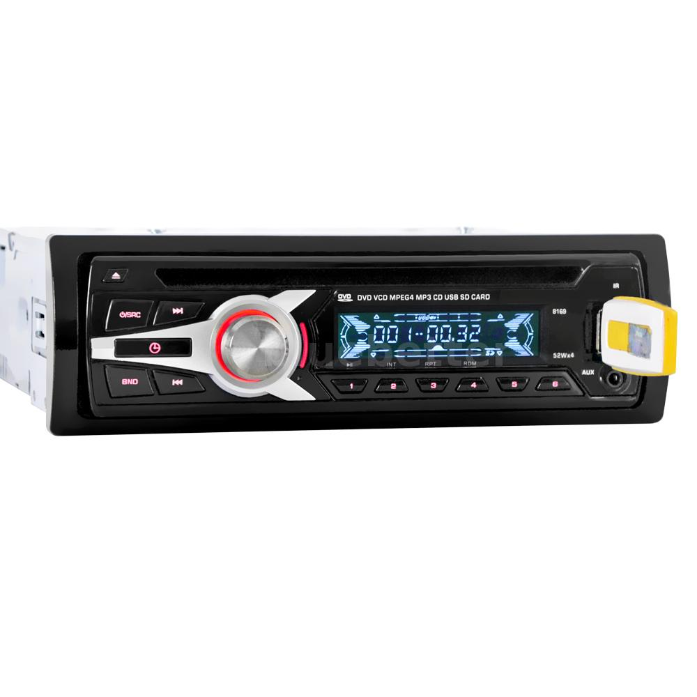 1 DIN Auto Car Stereo Radio CD DVD VCD MP3 MP4 Player FM