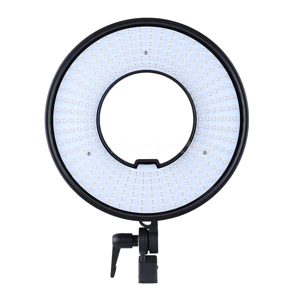 Led Ring Light Studio: LED Ring Light Photo/Video Studio Dimmable Continuous