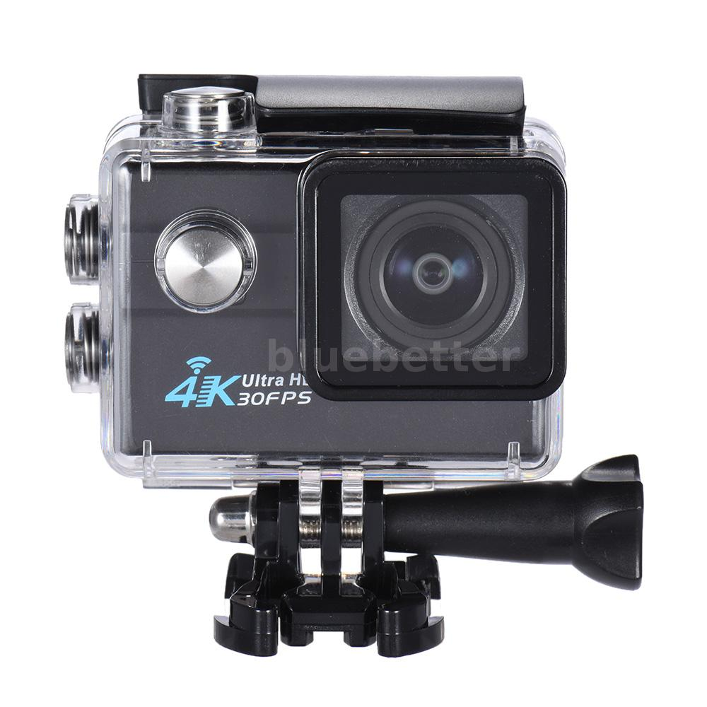 2 wifi action sports camera hd 16mp 4k 1080p 4x zoom waterproof dvr black o6k2 ebay. Black Bedroom Furniture Sets. Home Design Ideas
