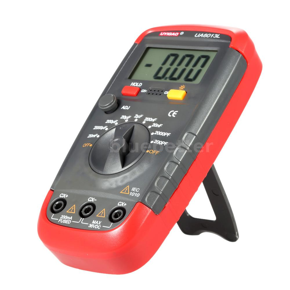 new uyigao ua6013l handheld lcd digital capacitor capacitance meter tester m2r0 ebay. Black Bedroom Furniture Sets. Home Design Ideas