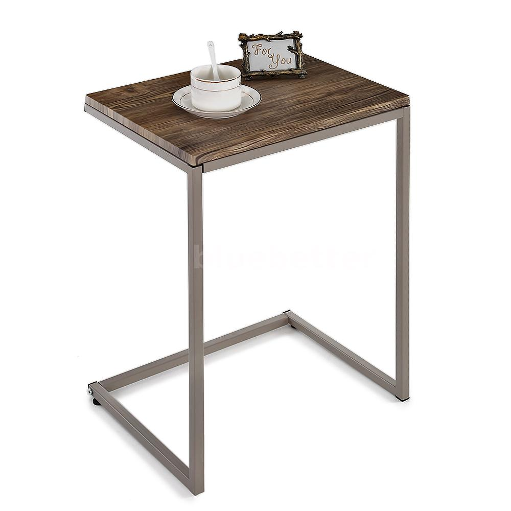 Pc metal frame stacking nesting table set end coffee