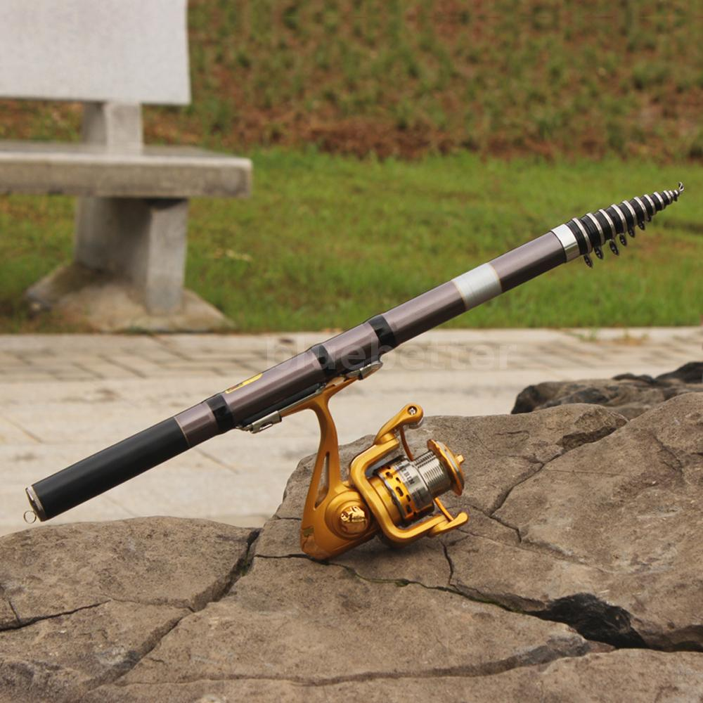 Telescopic fiberglass surf fishing rod travel for Fiberglass fishing pole