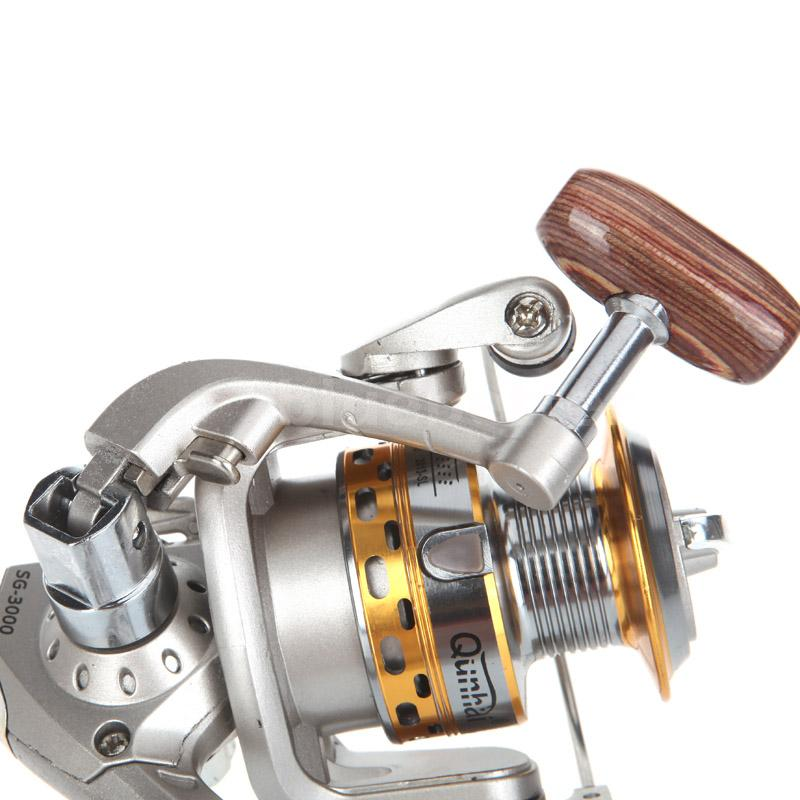 New 6bb fishing spinning reel saltwater reels freshwater for Left handed fishing reels