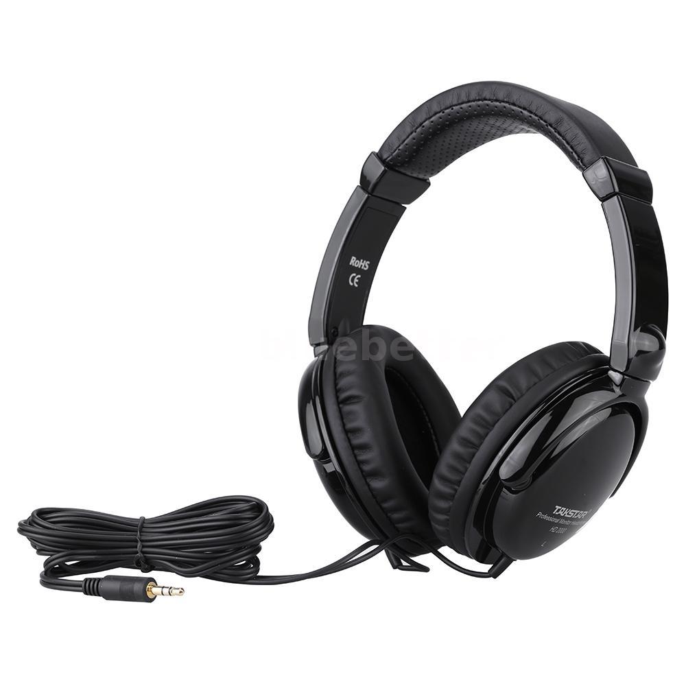 takstar monitor headphones audio mixing studio recording dj for guitar pc g6w3. Black Bedroom Furniture Sets. Home Design Ideas