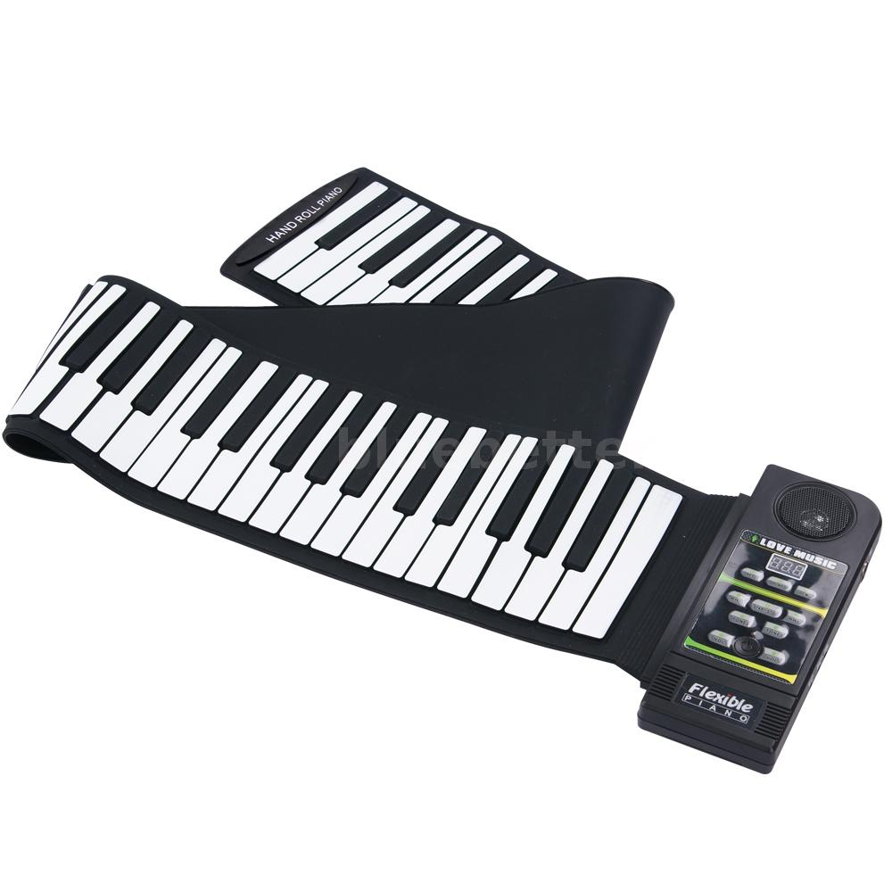 88 Key Musical Keyboards : silicon flexible 88 key piano keyboard roll up piano with loud speaker ebay ~ Hamham.info Haus und Dekorationen