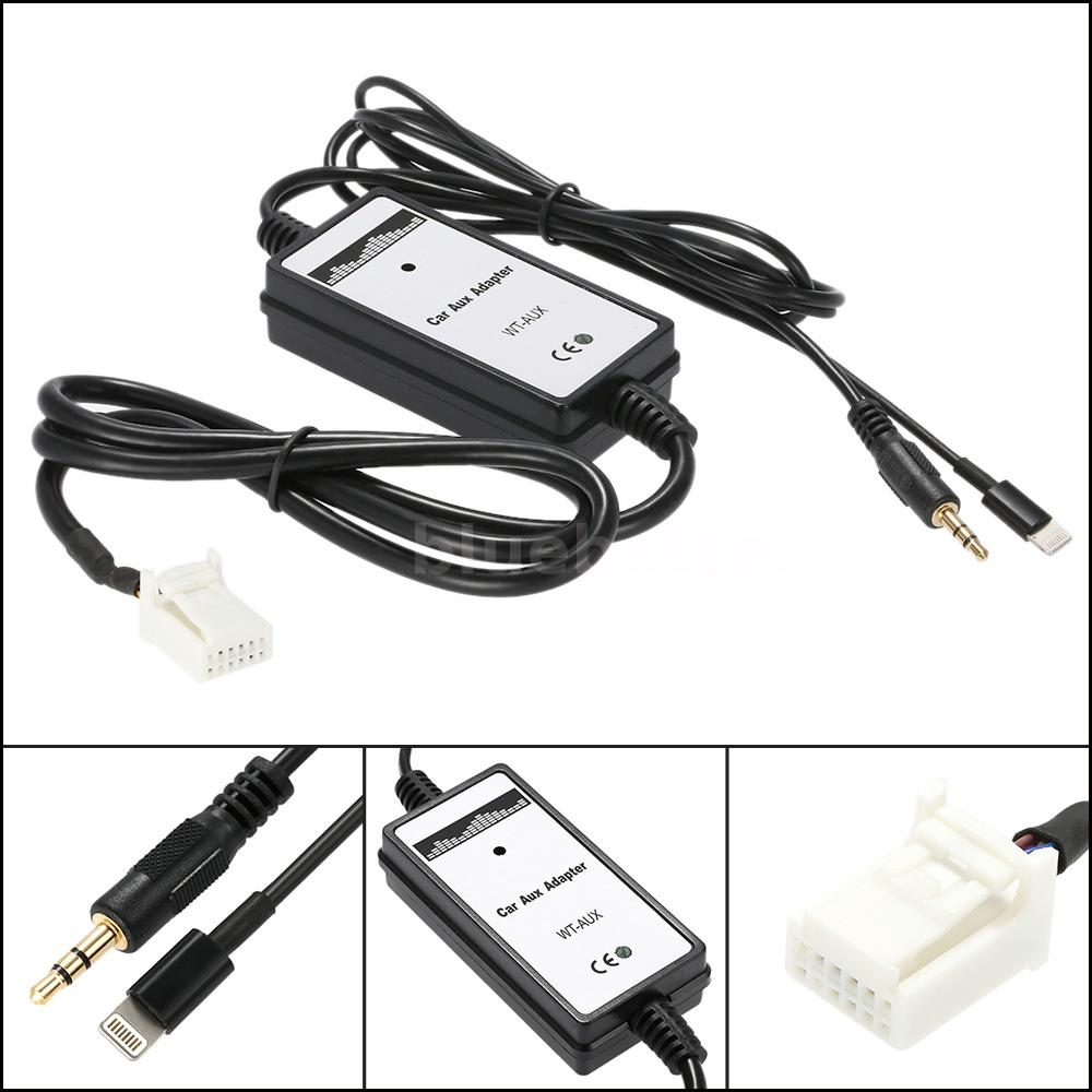 car aux in mp3 audio adapter usb interface for toyota camry corolla s4f0 ebay. Black Bedroom Furniture Sets. Home Design Ideas