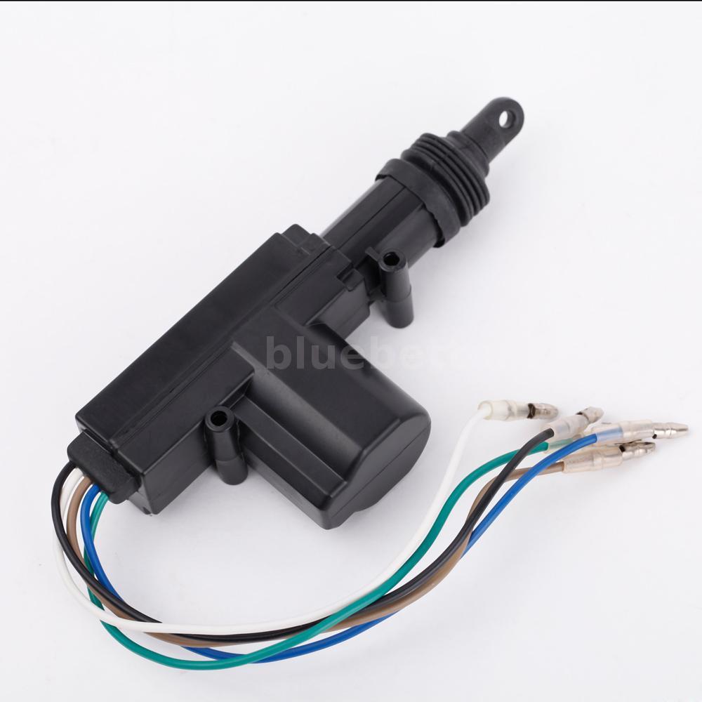 12V High Power Car Auto Heavy Duty Power Door Lock Actuator Motor 5 ...