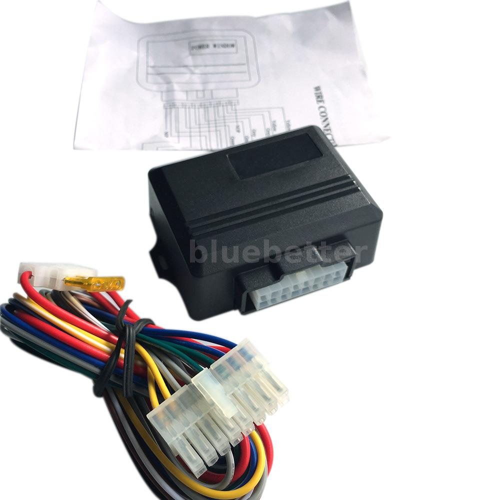 Vehicle car auto remote power window roll up closer module for Power window motors for cars