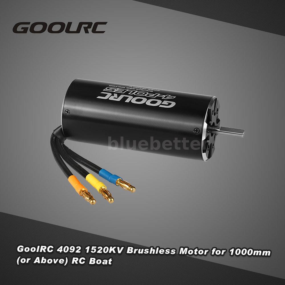 Goolrc 4092 1520kv 4 poles brushless sensorless motor for for Are brushless motors better