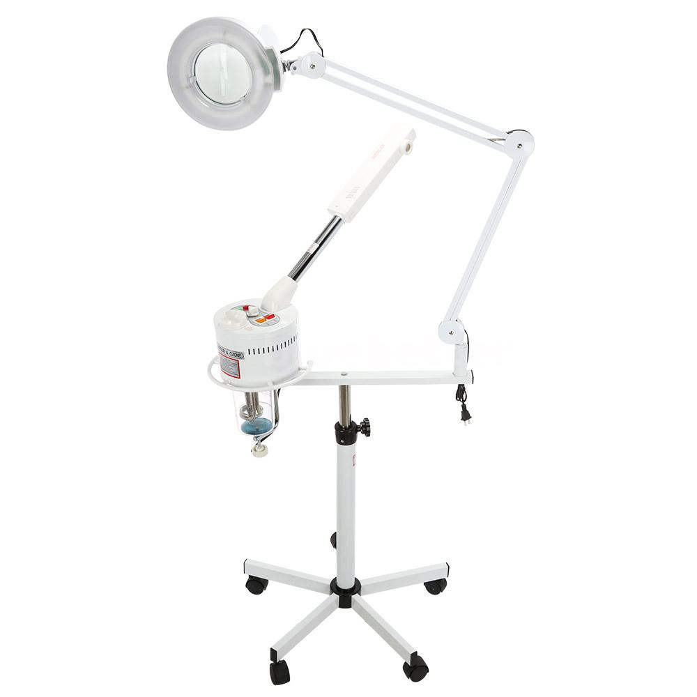 Pro Facial Steamer 5X Magnifying Lamp UV Ozone Steamer