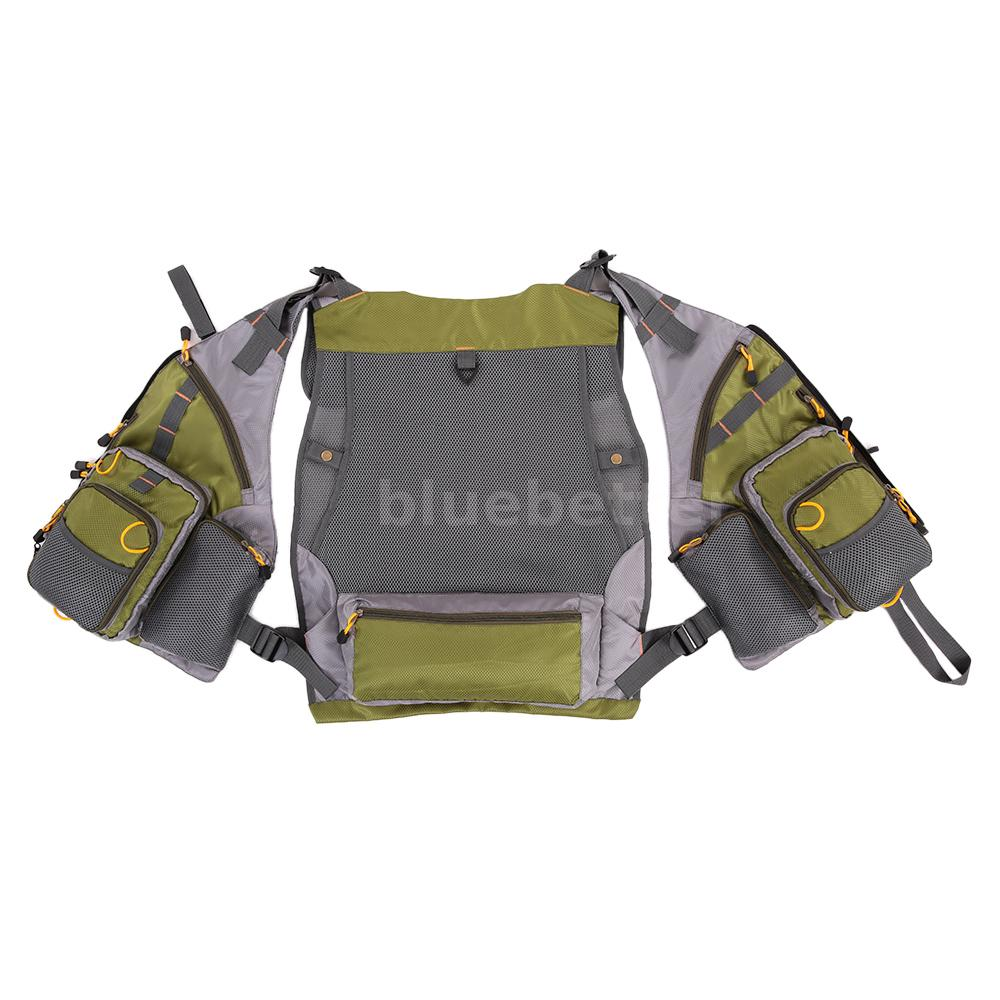 Outdoor new adjustable fly fishing vest mesh premium gear for New fishing gear
