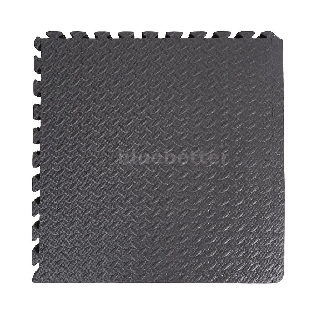 6Pcs Black Foam Interlocking Exercise Protective Tile ...