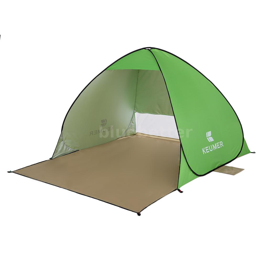 Pop Up Fishing : Outdoor pop up beach canopy sun uv shade shelter camping