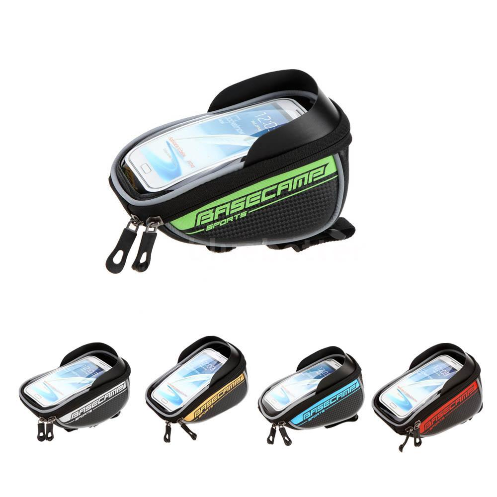 BaseCamp Bicycle Cycling Frame Front Top Bag Handlebar Mountain Bike Pouch